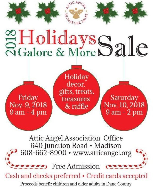 2018 Holiday Sale Flyer