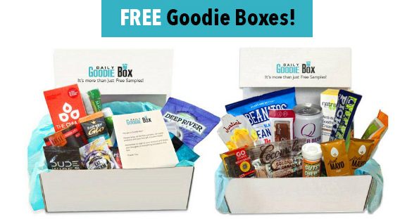 Over 300 Free Daily Goodie Boxes Giveaway - Free Product Samples