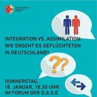 Neue Veranstaltung: Vortragsabend AG Flüchtlingshilfe: Integration vs. Assimilation