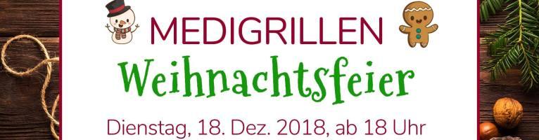 """Medigrillen """"Weihnachtsfeier"""", 18. Dezember"""