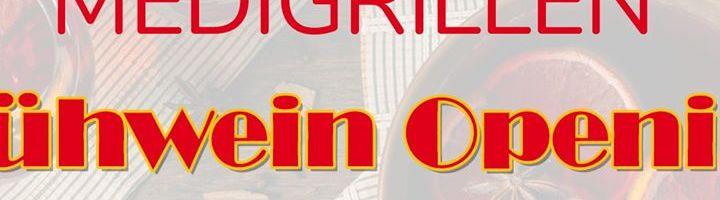 Neue Veranstaltung: Medigrillen Glühweinopening –