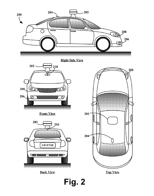 Google's BusDetecting Patent for Driverless Car Is OK'd