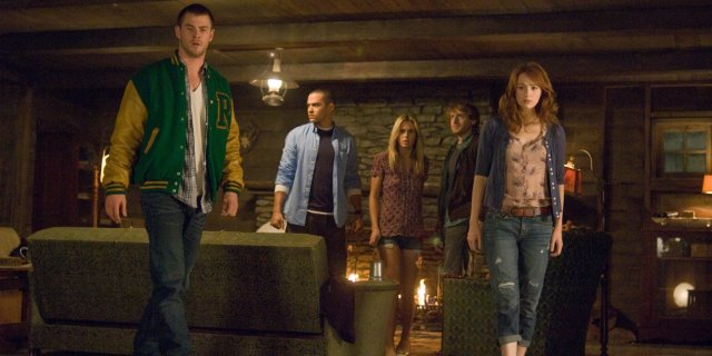 Image result for chris hemsworth the cabin in the woods