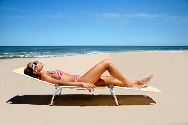 Image result for people tanning
