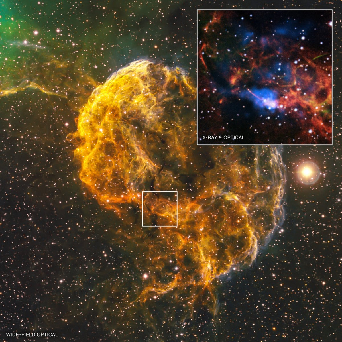 """This """"Jellyfish Nebula"""" is the Result of a Stellar ..."""