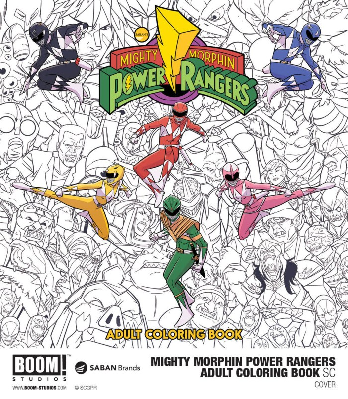 Power Rangers Year One From BOOM Studios Is Coming