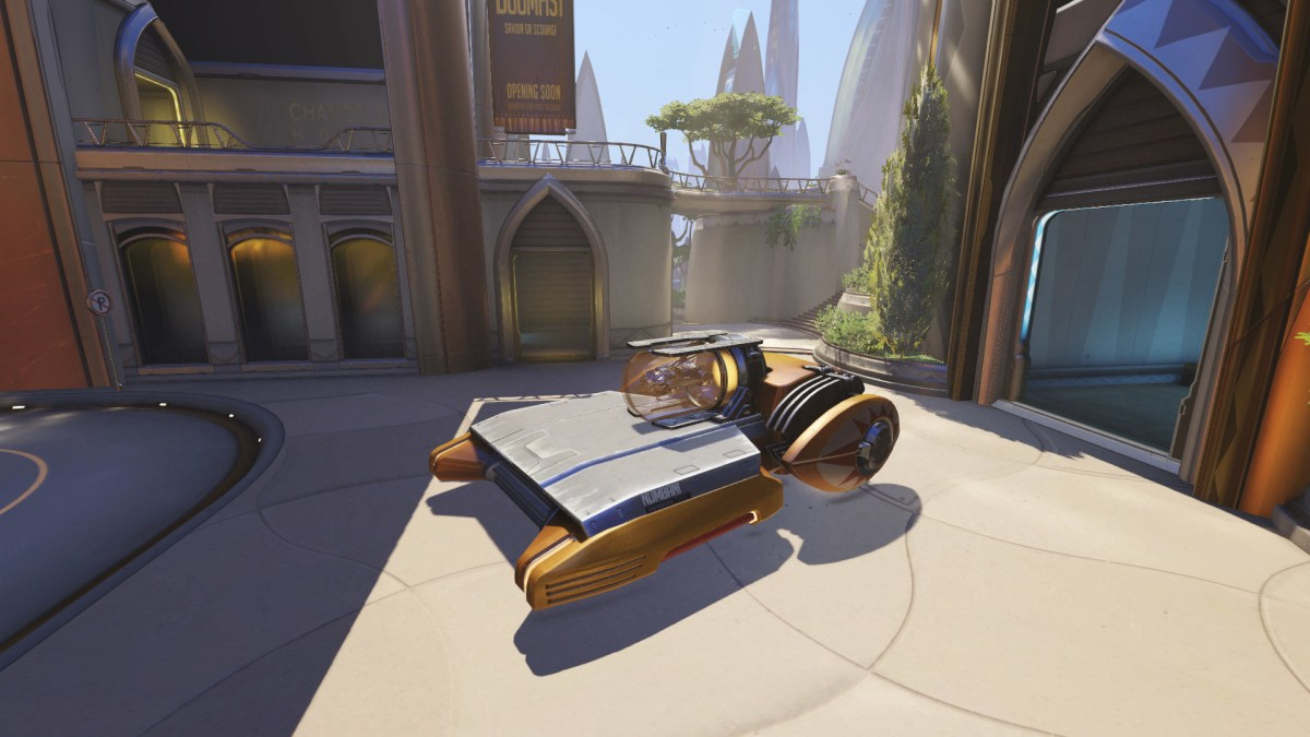 Overwatch Predicts Earth Will Develop Flying Cars By The