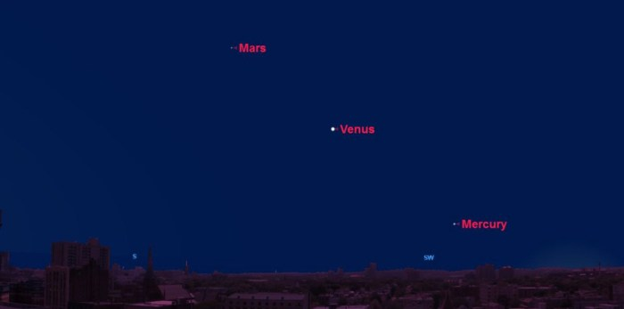 How to See Venus in the Night Sky Tonight Inverse