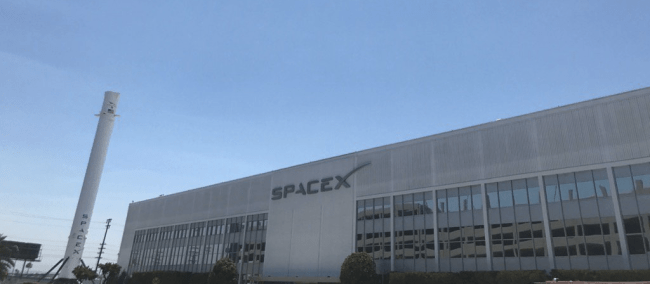 Here's Why SpaceX Has a Giant Rocket Parked Outside Its HQ ...