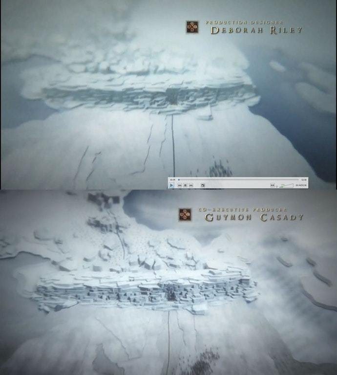 Image result for game of thrones season 7 title sequence the wall