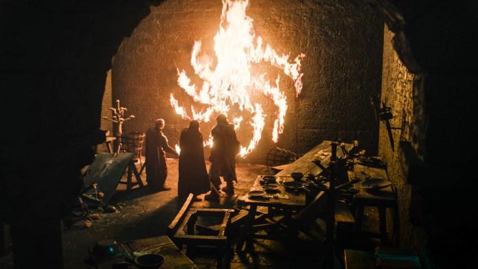 Game of Thrones Season 8 spiral