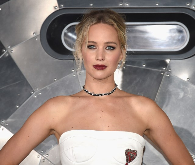 Westwood Ca December 14 Actress Jennifer Lawrence Attends The Premiere Of Columbia Pictures