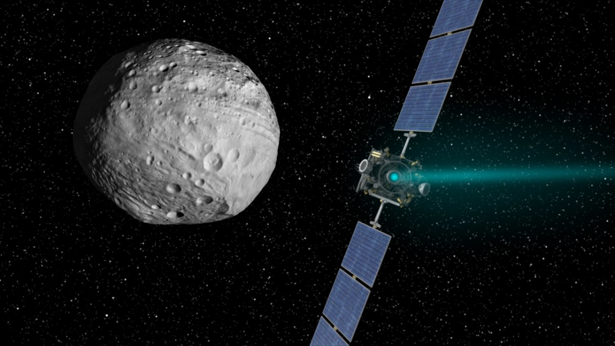 NASA Dawn Probes Find on Asteroid Vesta Shows Water is Everywhere Inverse