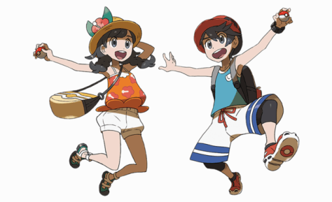 The new pair of protagonists look much more fun and tropical than the 'Sun' and 'Moon' counterparts.