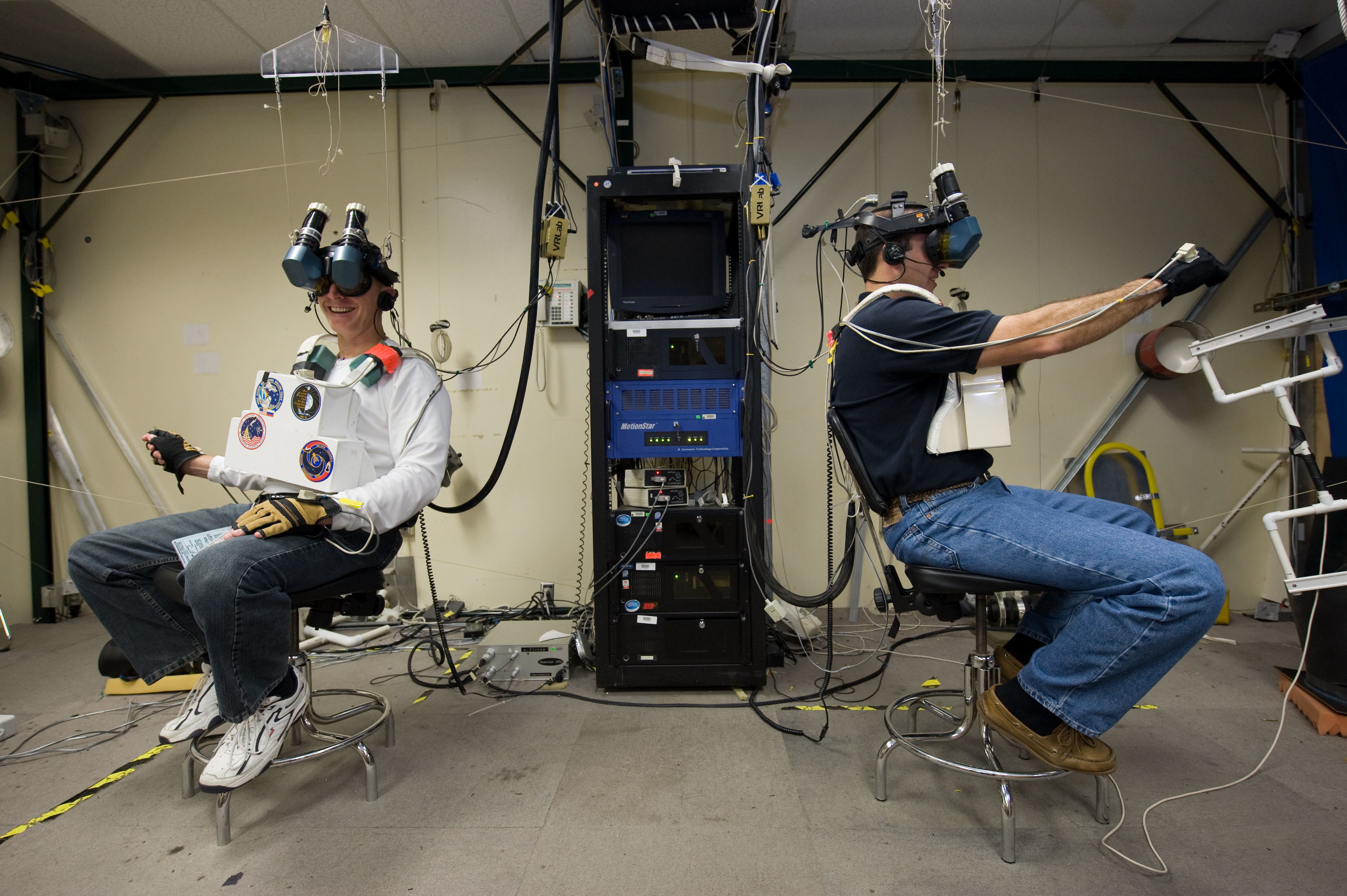 Image result for Using Virtual Reality to train astronauts