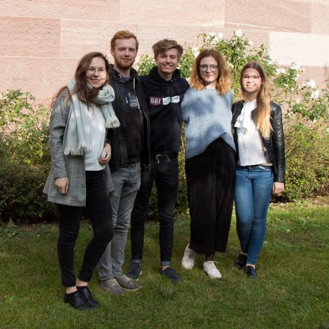 Die Delegation des FSR Jura auf der APT 2017 in Freiburg