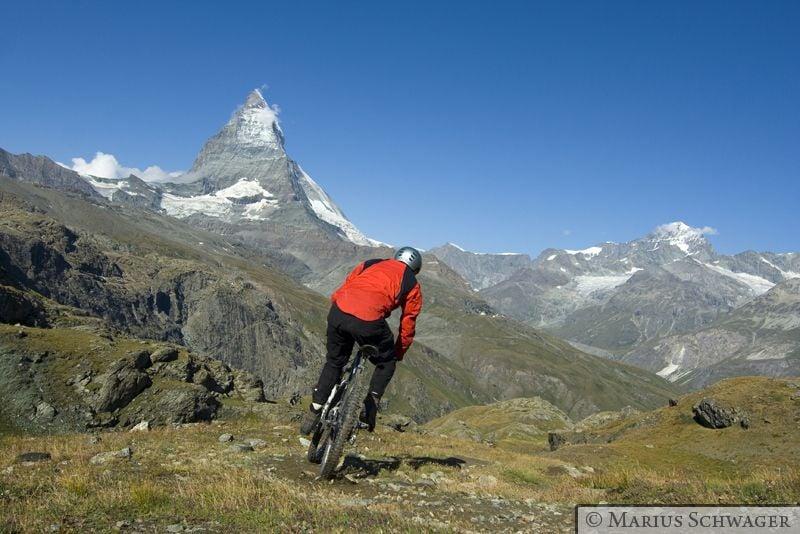 Zermatt: Kaisertrails bei Kaisersicht und Kaiserwetter