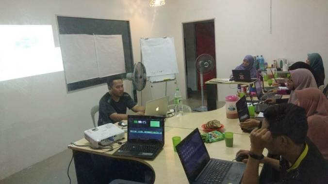 Kursus ICT percuma Video Filmora USIM