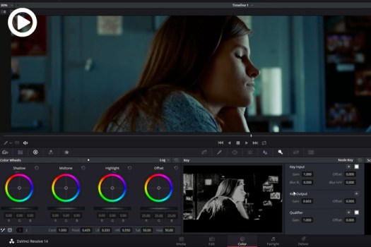 Davinci Resolve Tutorial: Skin Tone Correcting With Respect to Ambient Light Color