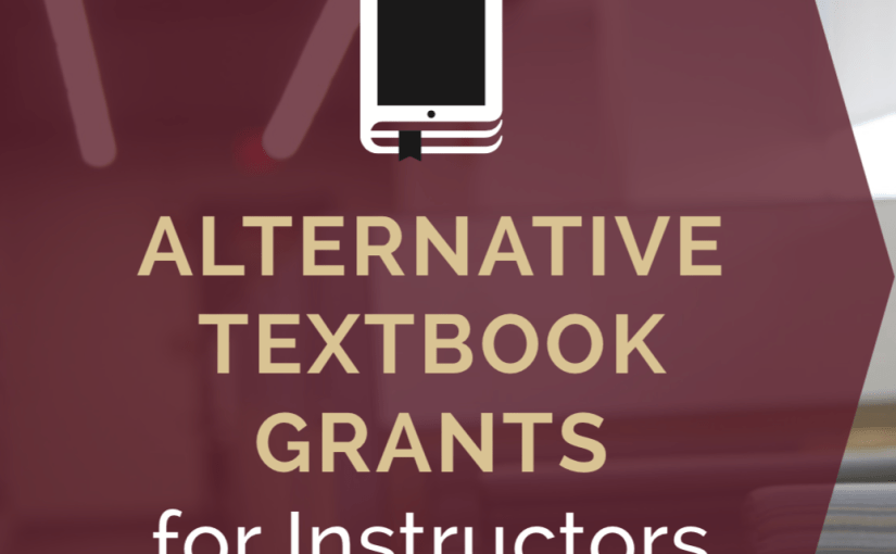 FSU Libraries Announces 2018-19 Alternative Textbook Grant Recipients