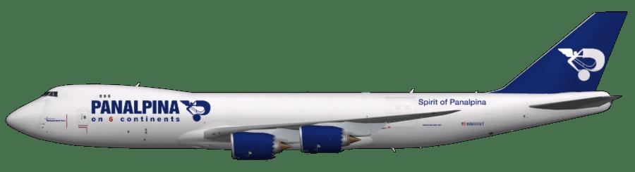 Resultado de imagen para Panalpina Boeing 747 png