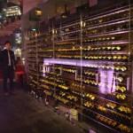 グランドハイアット福岡のバーフィズ(Bar Fizz)で美しいクリスタルツリーと乾杯☆