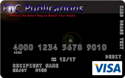 FTC Publications Visa Incentive Card