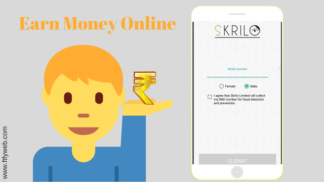 Easy Way to Earn Money : Skrilo App – Free Tips For You