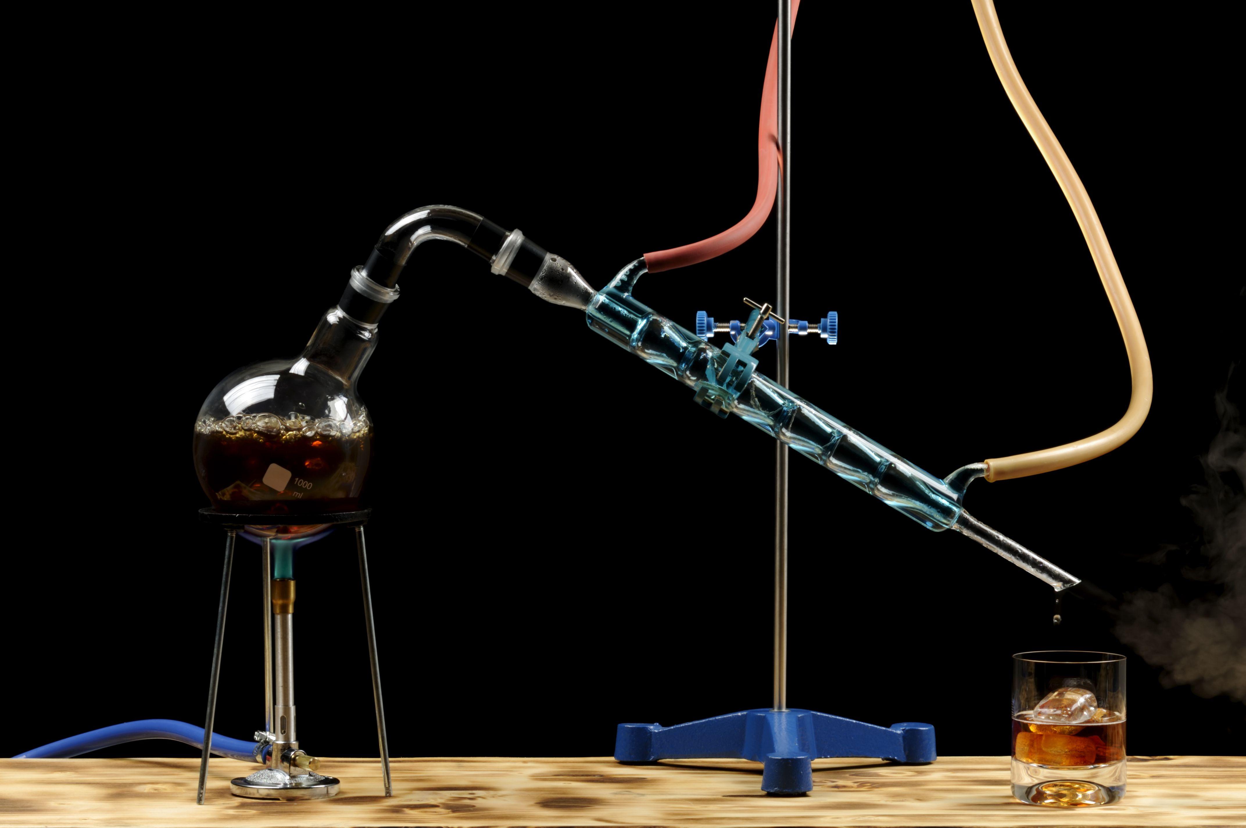 Distillation Definition In Chemistry