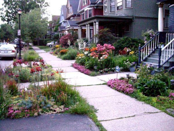 sidewalk garden Creative Sidewalk Gardens