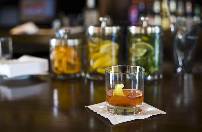 Classic Sazerac Cocktail Recipe With Rye Whiskey