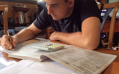 Income tax worksheet
