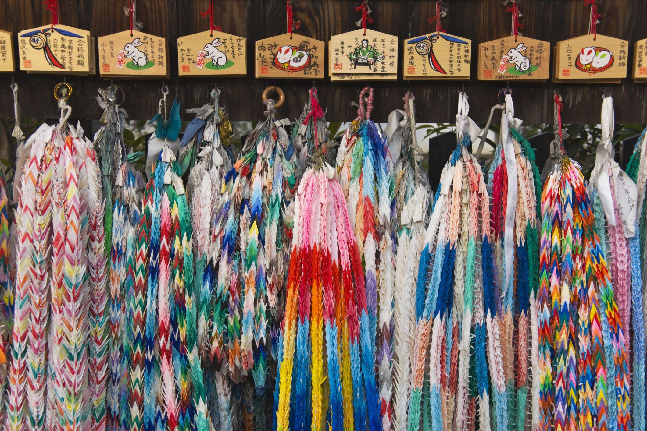1 000 Paper Cranes What Does A Senbazuru Mean