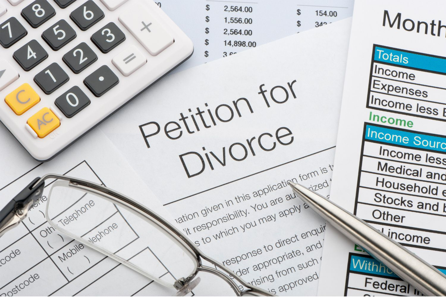 Filing An Original Petition For Divorce
