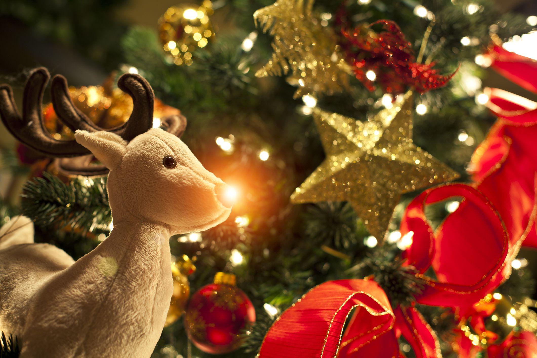 Le Ptit Renne Au Nez Rouge French Christmas Carol