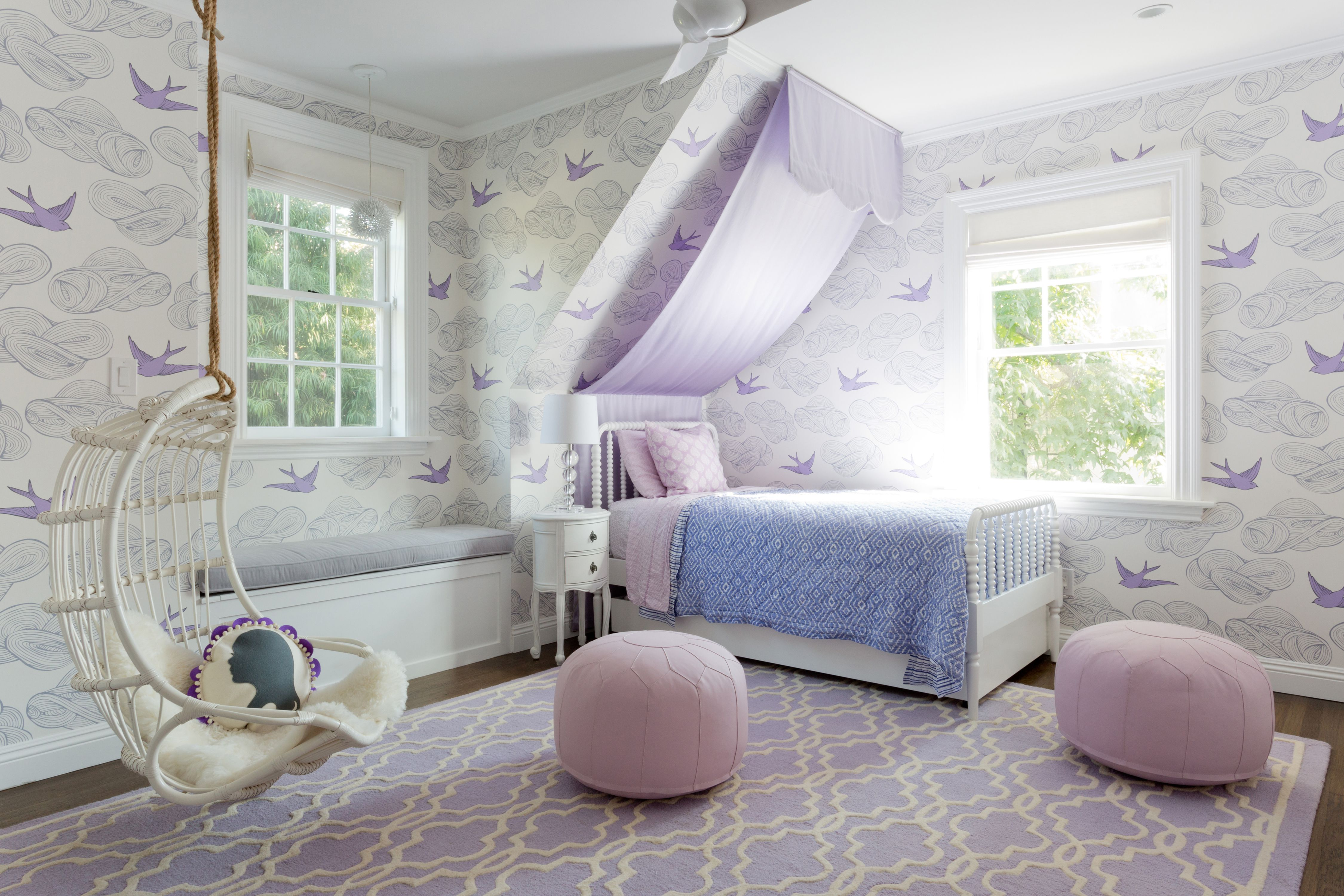 21 Beautiful Girls' Rooms With Canopy Beds on Pretty Rooms For Teenage Girl  id=75426