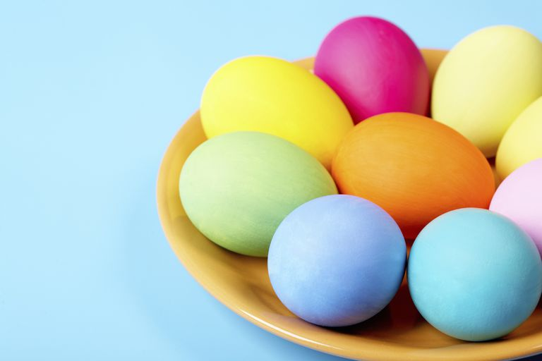 Easter Eggs Plastic Large Extra