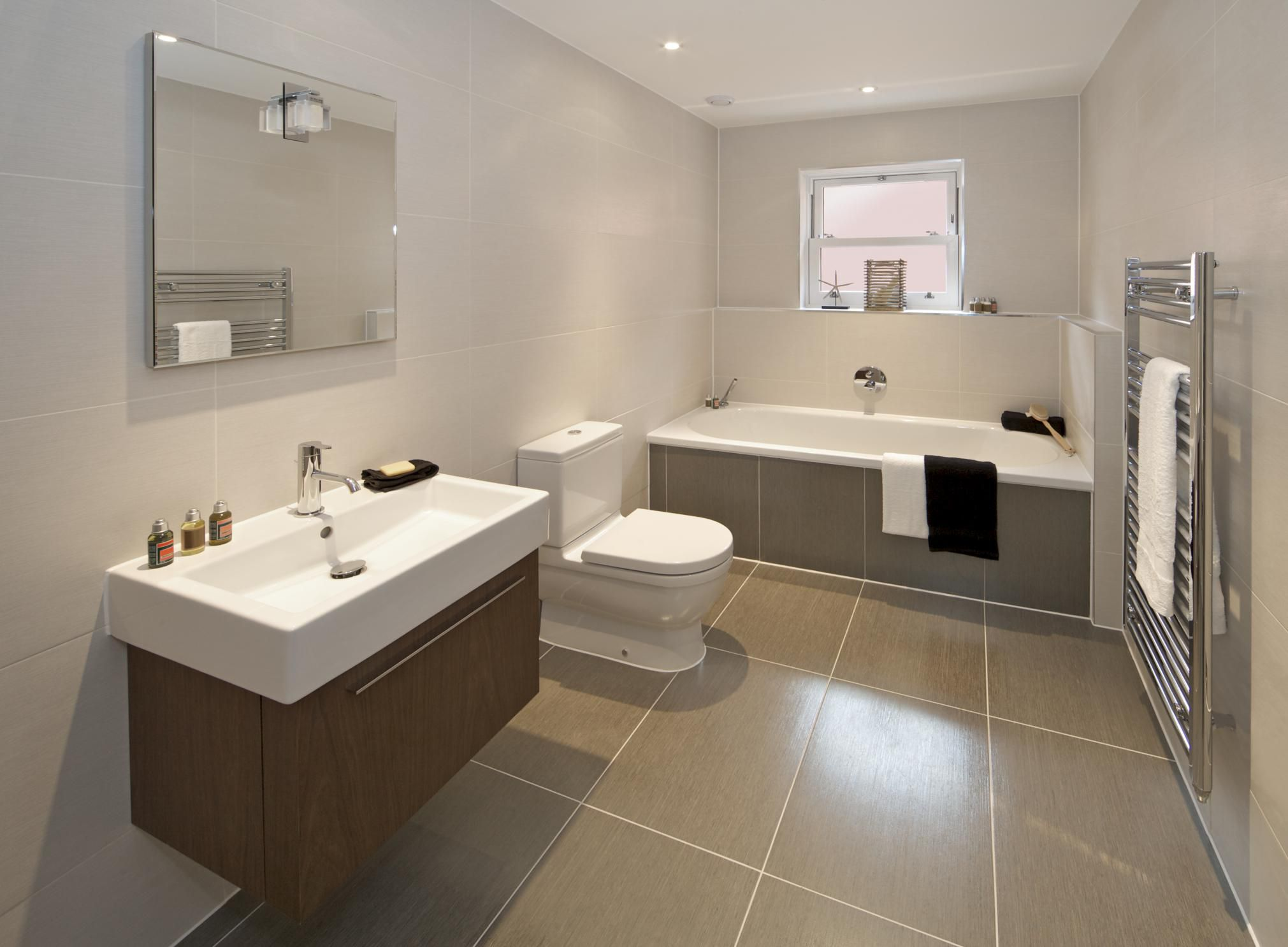 Advice On Best Tile Size For Bathrooms