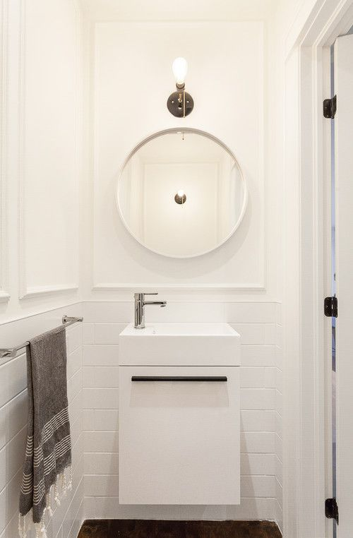 9 scaled-down vanities for small baths