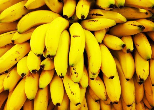 Full Frame Shot of Yellow Bananas