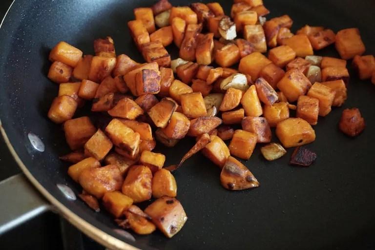 Trozos de batata