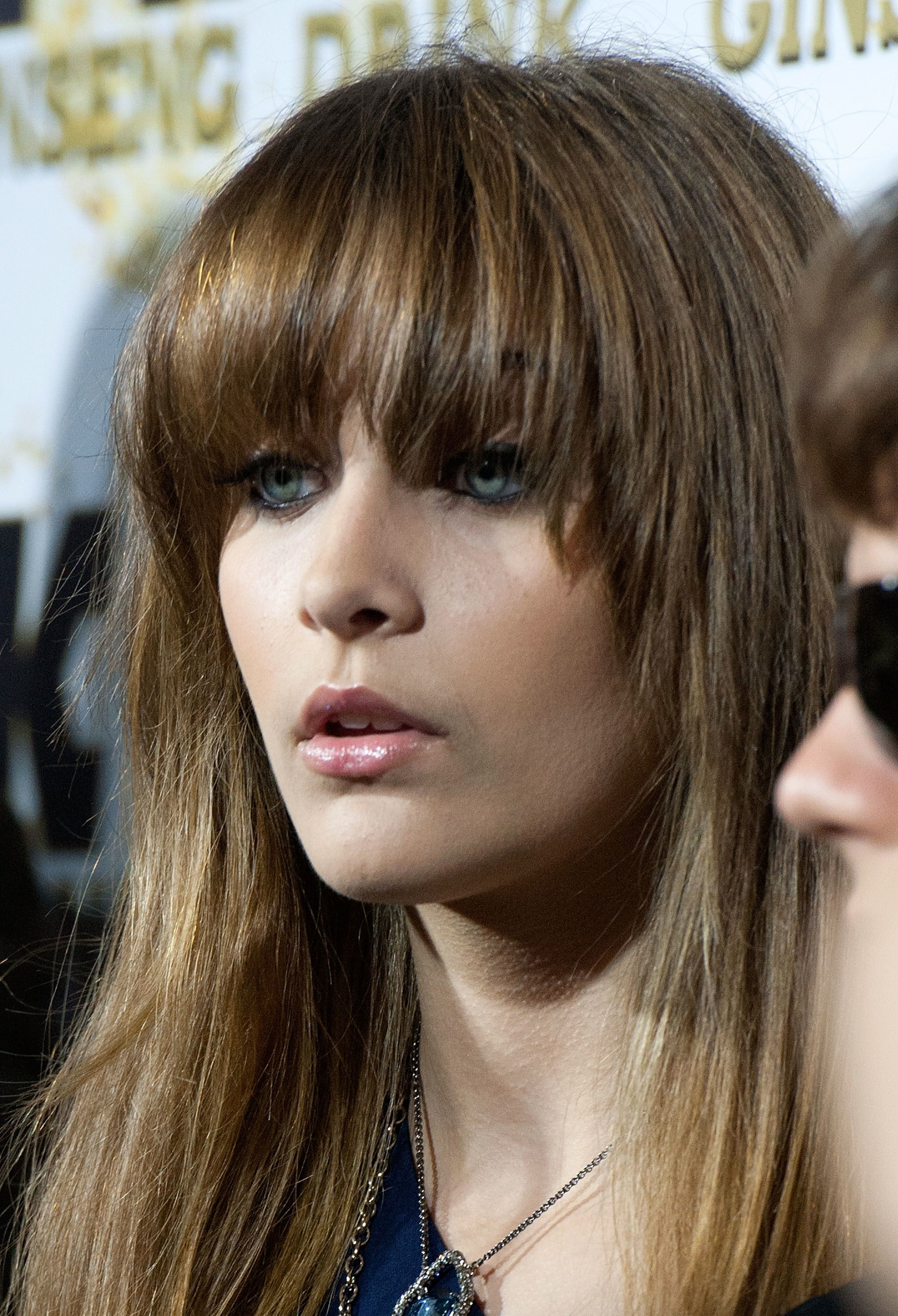 20 s of Blunt Bang Hairstyles Paris Jackson