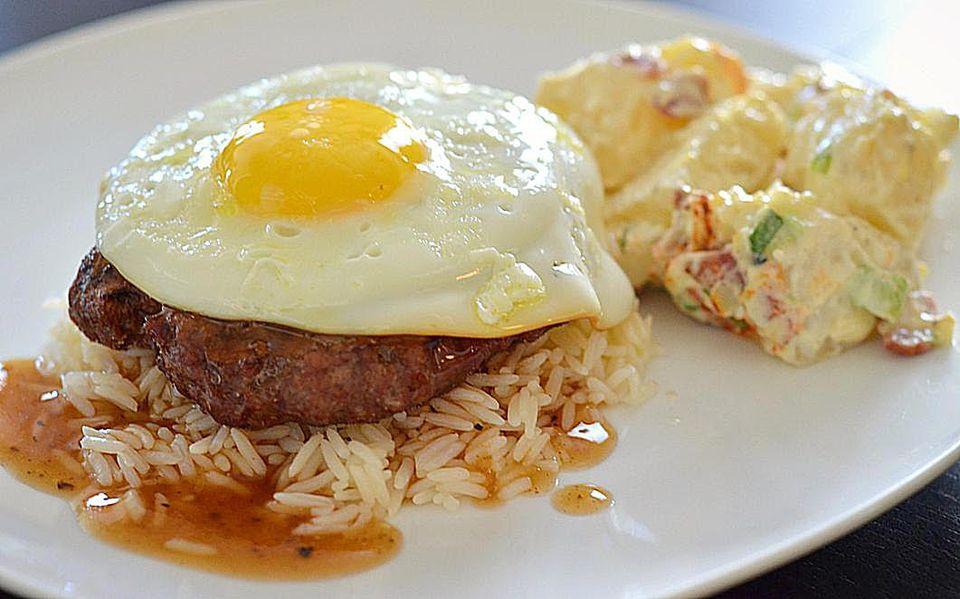 Hawaiian BBQ Loco Moco Recipe