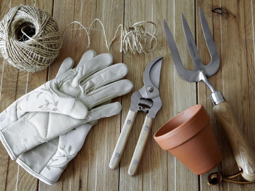 Cleaning And Sharpening Garden Hand Pruners