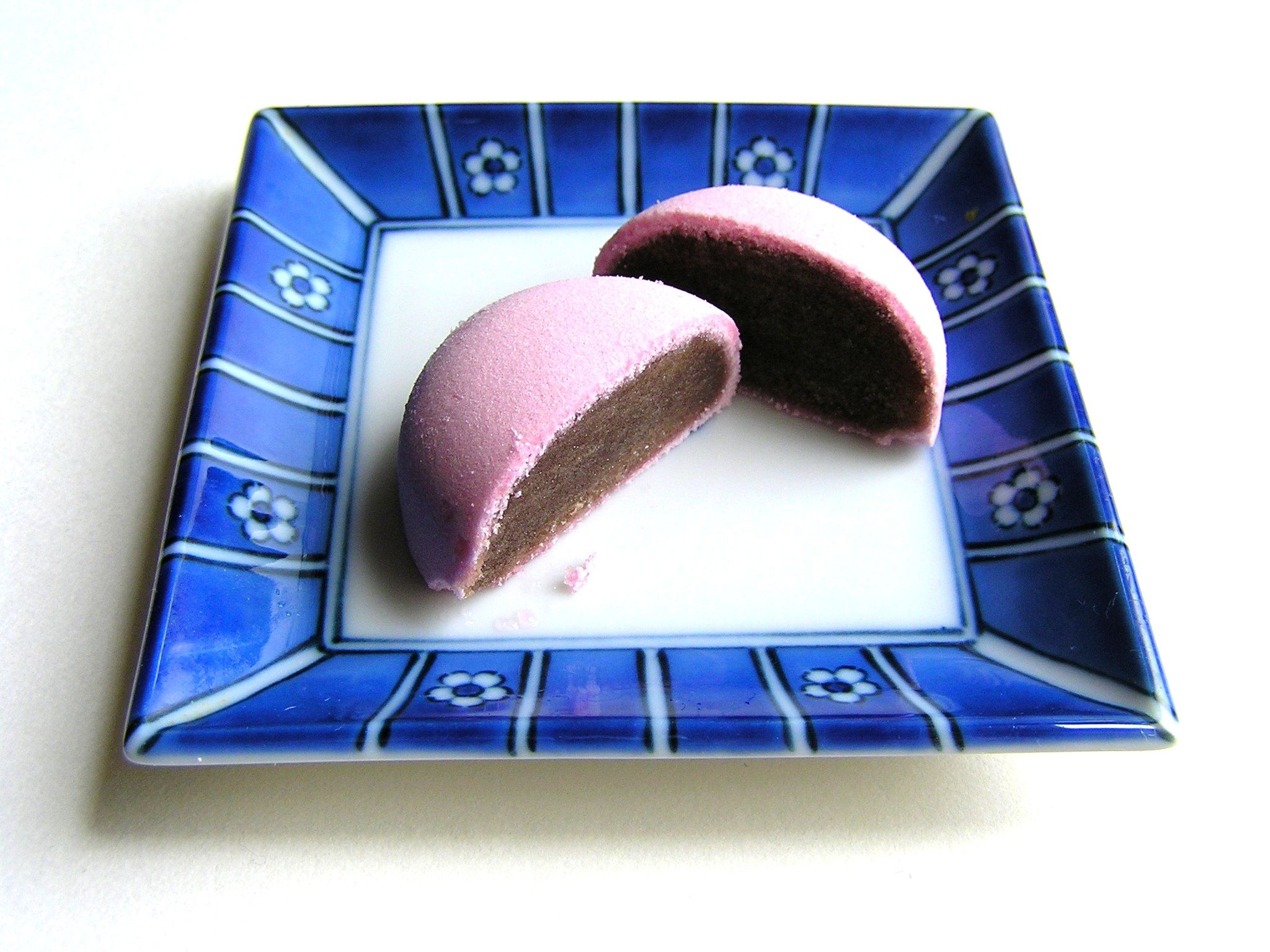 Manju Japanese Steamed Cake With Sweet Red Bean Filling