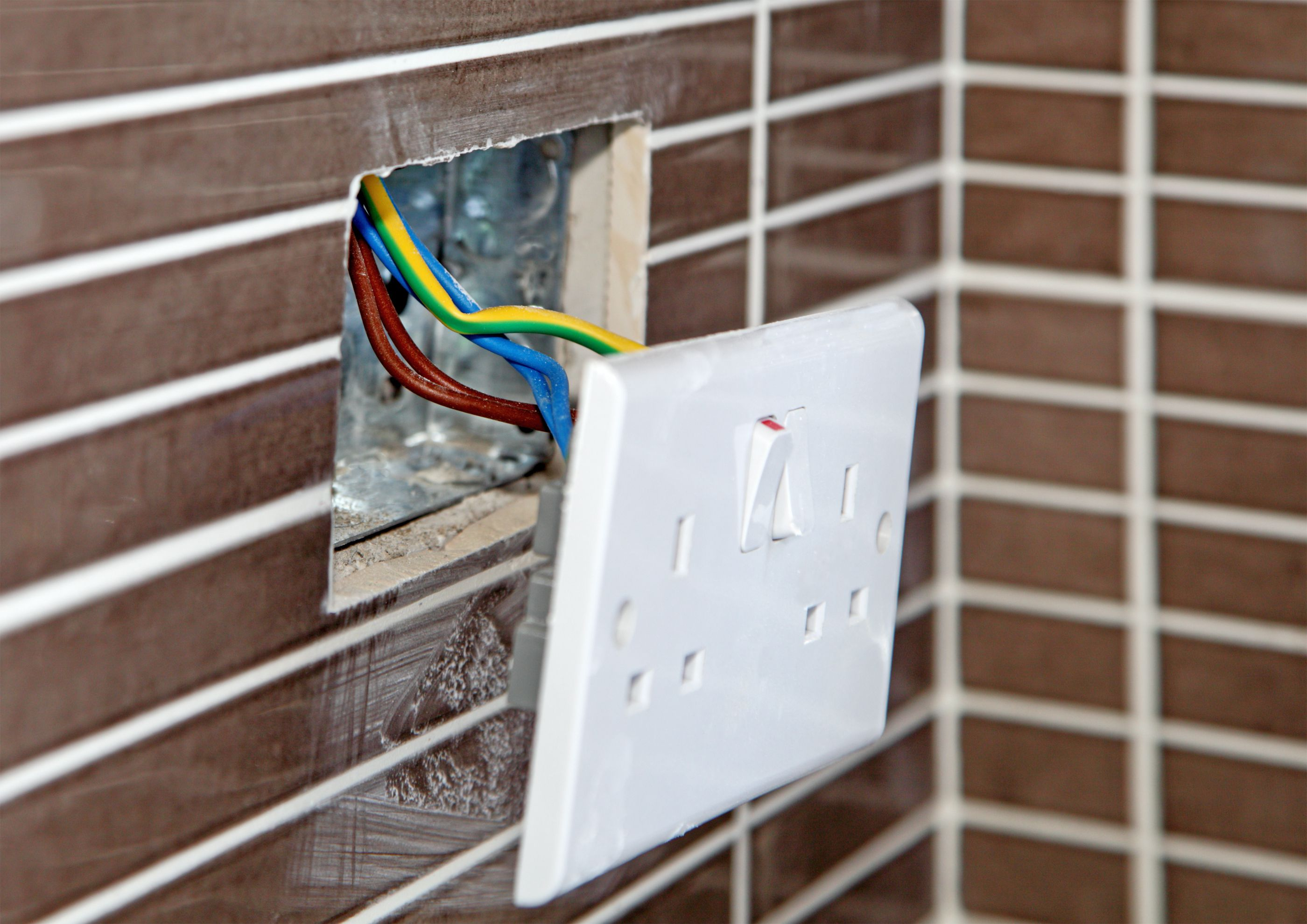 Installing An Old Work Retrofit Electrical Box In A Wall