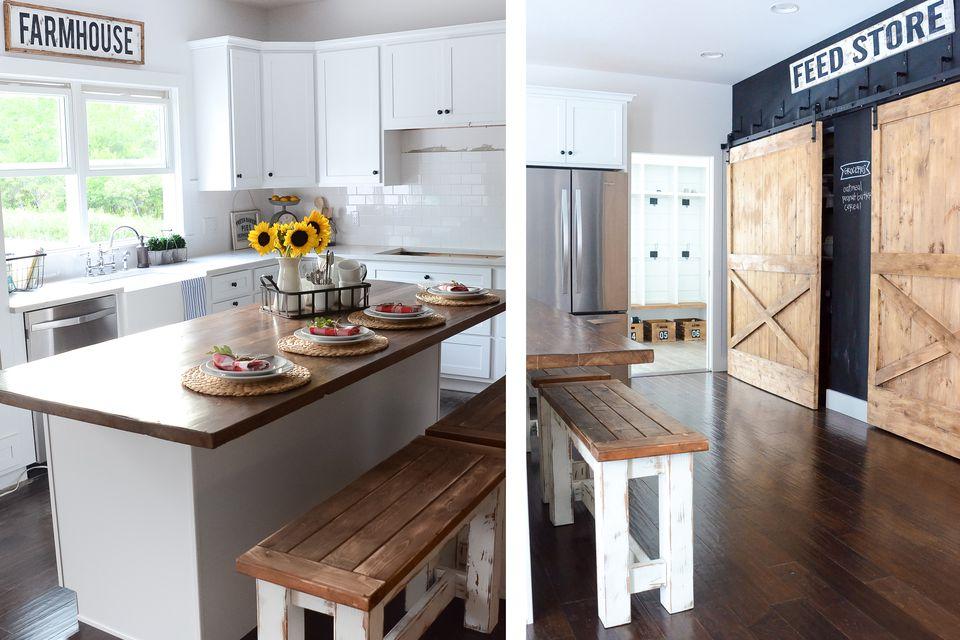 Gorgeous Modern Farmhouse Kitchens on Farm House Kitchen Ideas  id=72642