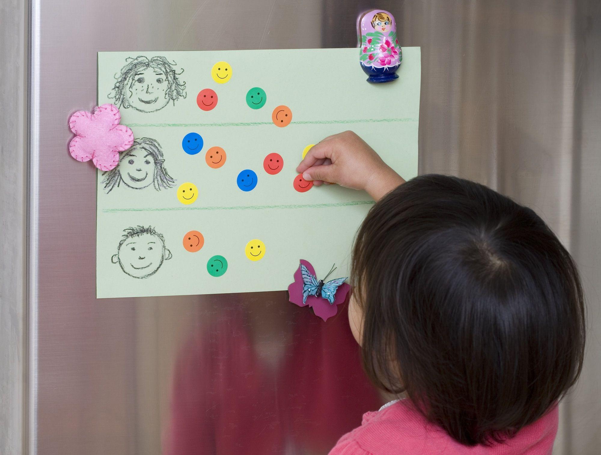 Encouraging With A Reward System For Preschoolers