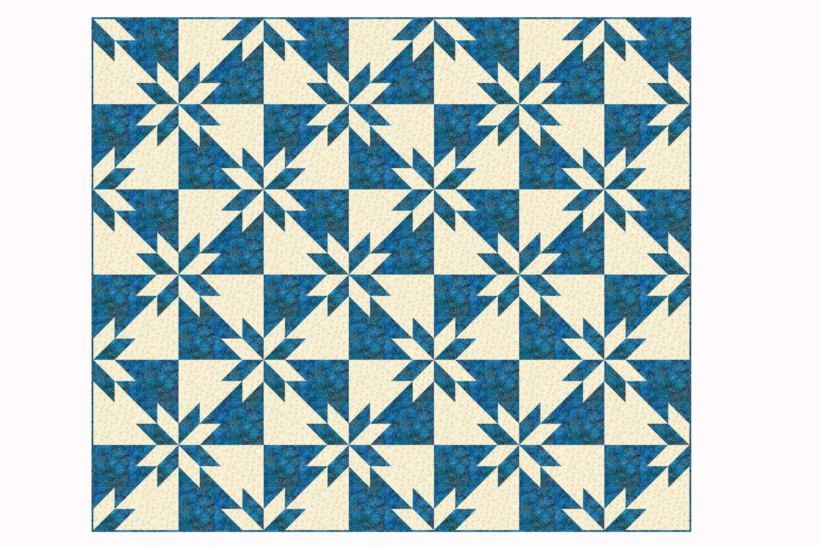 Easy Hunter S Star Quilt Pattern