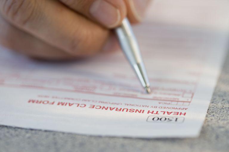 Medical claim form 1500